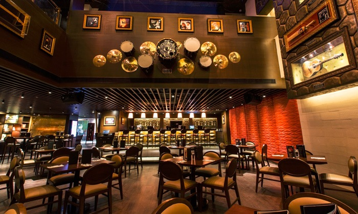 Hard Rock Cafe, Cyberhub - Gurgaon