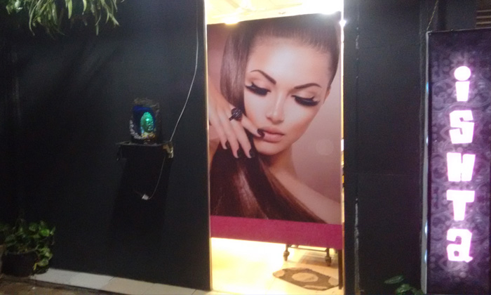Ishta The Hair & Beauty Budget Salon @ 34% off at Rs 199