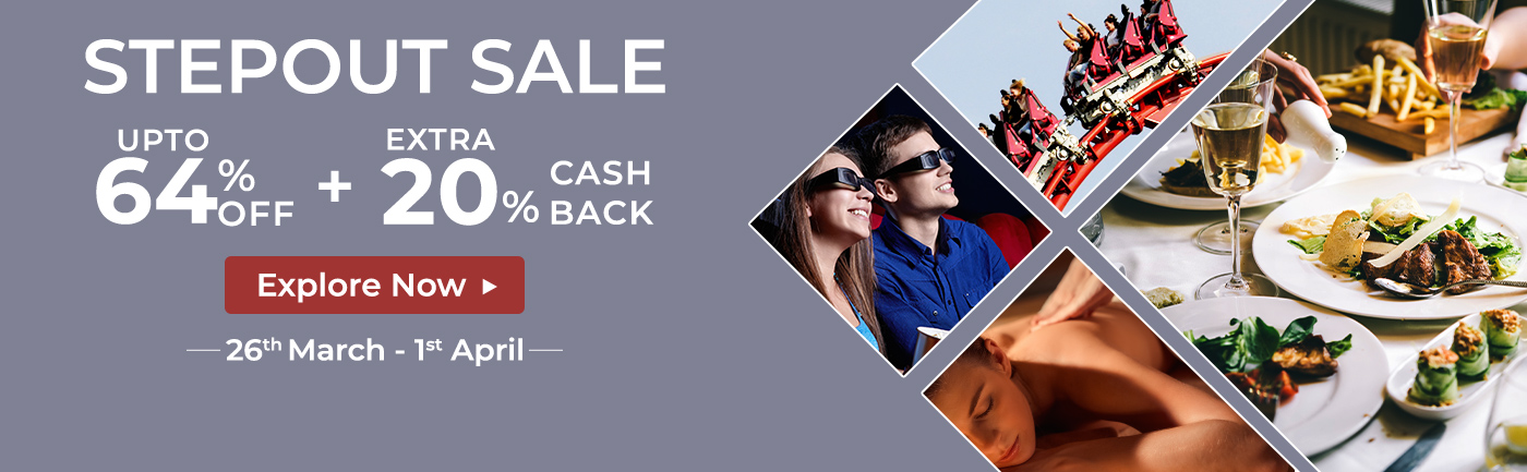 Cashback offers on Nearbuy